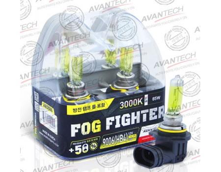 Галогенные лампы Avantech Fog Fighter +50% HB4 12v 55w 3000k ab3006