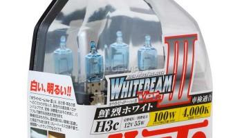 Лампы Koito Whitebeam III производства Япония