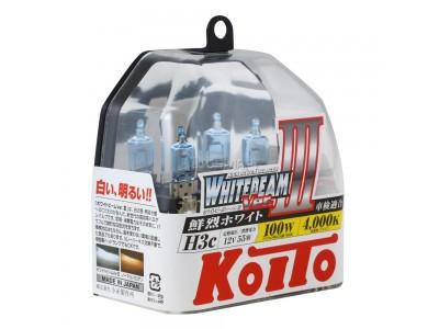 Галогенные лампы KOITO WHITEBEAM III H3C 12v 55w P0753W