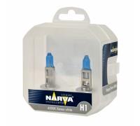 Галогенные лампы Narva Range Power White 4500k H1 12v 55w 48641