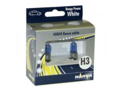 Галогенные лампы Narva Range Power White 4500k H3 12v 55w 48602