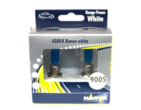 Галогенные лампы Narva Range Power White 4500k HB3 12v 60w 48625