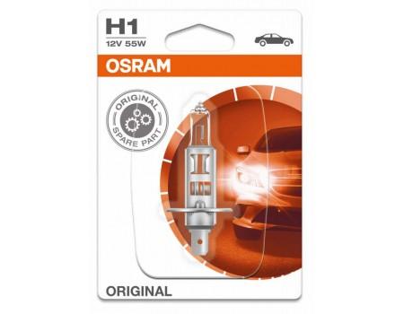 Галогенная лампа Osram Original line H1 12v 55w 64150
