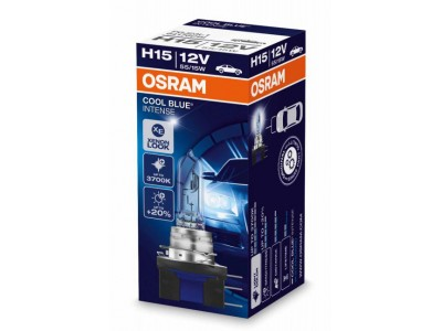 Галогенная лампа Osram Cool Blue Intense H15 12v 55/15w 64176cbi