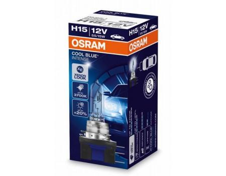 Галогенная лампа Osram Cool Blue Intense H15 12v 55/15w 64176cbi