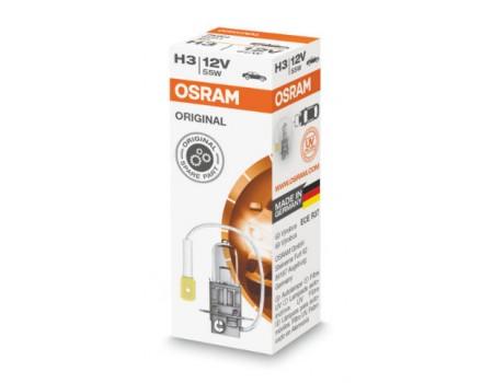Галогенная лампа Osram Original line H3 12v 55w 64151