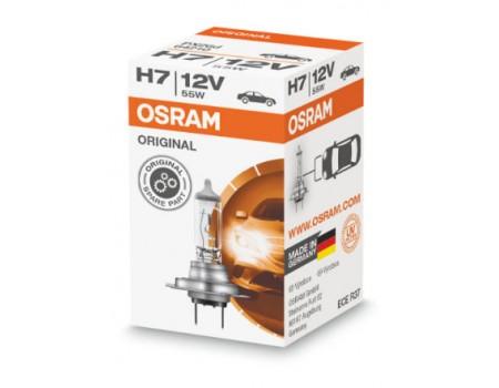 Галогенная лампа Osram Original line H7 12v 55w 64210