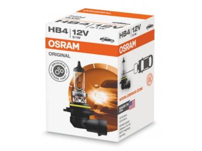 Галогенная лампа Osram Original line HB4 12v 51w 9006