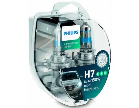 Галогенные лампы Philips Xtreme Vision Pro150 +150% H7 12v 55w 12972xvpb1