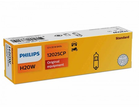 Лампа Philips H20W 12v 20w 12025cp