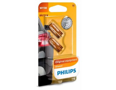 Лампа Philips WY5W 12v 5w 12396nab2