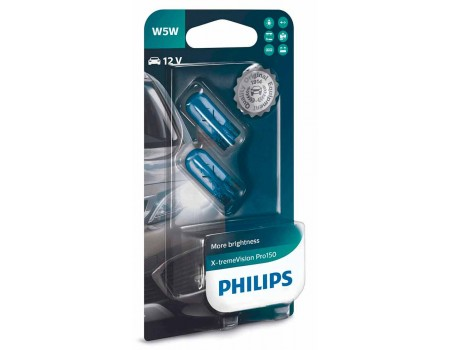 Лампа Philips Xtreme Vision Pro150 W5W 12v 5w 12961xvpb2