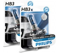 Галогенные лампы Philips Crystal Vision 4300k HB3 12v 65w 9005cvb1