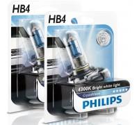 Галогенные лампы Philips Crystal Vision 4300k HB4 12v 55w 9006cvb1