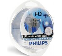 Галогенные лампы Philips Diamond Vision 5000k H3 12v 55w 12336dvs2