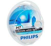 Галогенные лампы Philips Diamond Vision 5000k H7 12v 55w 12972dvs2