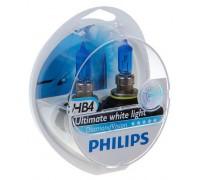 Галогенные лампы Philips Diamond Vision 5000k HB4 12v 55w 9006dvs2
