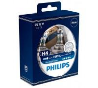 Галогенные лампы Philips Racing vision +150% H4 60/55w 12342rvs2