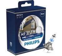 Галогенные лампы Philips Racing vision +150% H7 12v 55w 12972rvs2