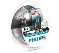Галогенные лампы Philips Xtreme Vision +130% H1 12v 55w 12258xv+s2