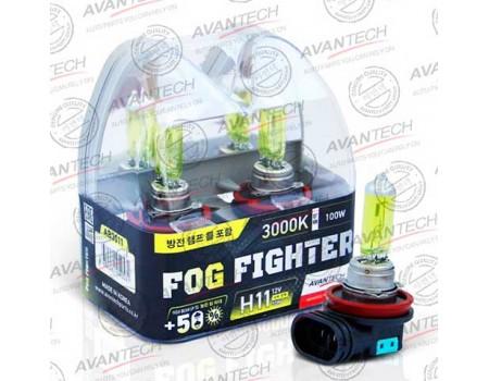 Галогенные лампы Avantech Fog Fighter +50% H11 12v 55w 3000k ab3011