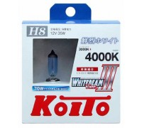 Галогенные лампы KOITO WHITEBEAM III H8 12v 35w P0758W