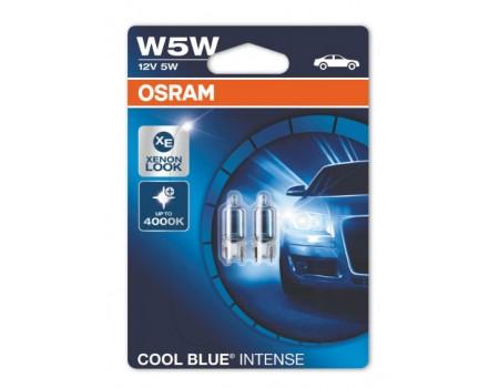 Лампа Osram Cool Blue Intense W5W 12v 5w 2825HCBI-02B