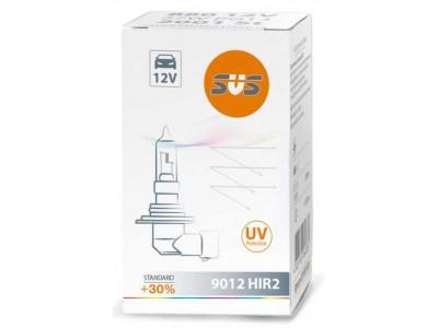 Галогенная лампа SVS Standart +30% HIR2 9012 12v 55w аналог 9012llc1