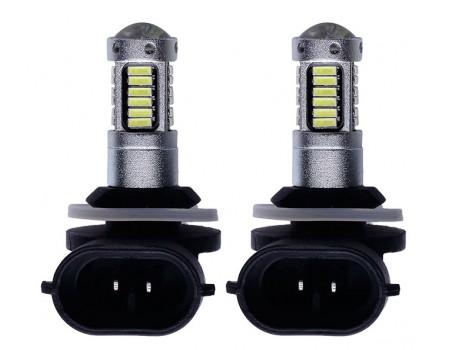 Светодиодная лампа H27/2 881  30 smd с линзой