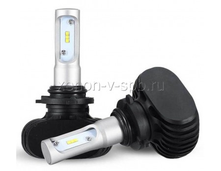 Светодиодные лампы HB4/9006 50w 4000лм 4000k (теплый белый) CSP Led