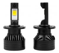 Светодиодные лампы D1S / D2S  / D3S / D4S поколение F3 +300% с обманкой 9-32V, Lum 10000, 45W