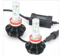 Светодиодные лампы H8/H9/H11/H16 50w 8000лм Luxeon Z-ES