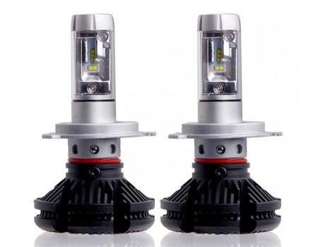 Светодиодные лампы x3-поколение H4 50w 6000лм ZES led