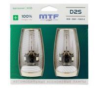 Ксеноновая лампа D2S MTF Night Assistant +100% 4800k nabd2s 2шт