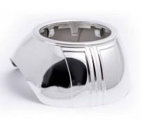 Декоративная бленда (маска) для линзы 3 дюйма круглая скошенная 6905 (2шт)