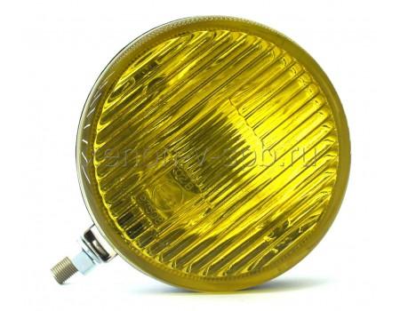 Дополнительная фара противотуманного света ОСВАР круглая желтая (к-т с крышками)
