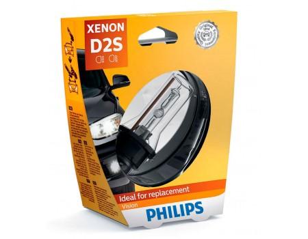 Ксеноновая лампа D2S Philips Vision Original 85122vis1 85122vic1