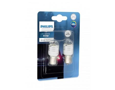 Светодиодная лампа Philips P21W Ultinon Pro3000 LED 12v 11498u30cwb2