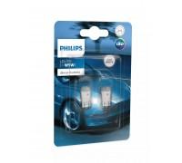 Габаритные светодиодные лампы Philips W5W T10 Ultinon Pro3000 LED 6000k 12v 11961u30cwb2