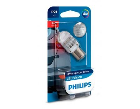 Светодиодная лампа  Philips P21W Led Vision 12v 12839redb1