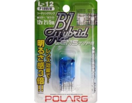 Лампа Polarg B1 T20 W21/5W Hybrid Lens L-12 P1895W