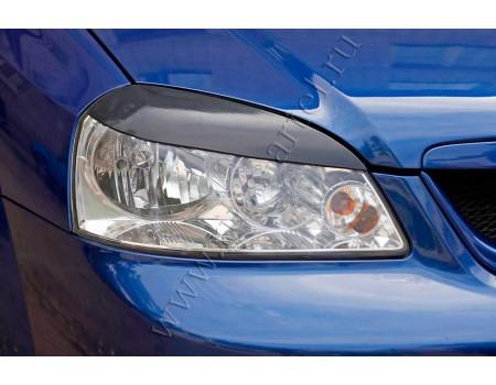 "Накладки на фары ""Реснички"" для Chevrolet Lacetti седан (2004-) RECL-005700"