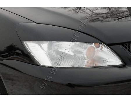 "Накладки на фары ""Реснички"" для Mitsubishi Lancer IX (2003-2008г) REML9-010300"