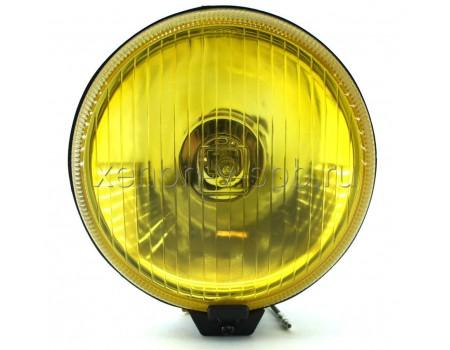 Дополнительная фара дальнего света SIRIUS NS-1140 желтая (к-т с крышками)