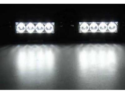 Светодиодные стробоскопы 4 LED  белые